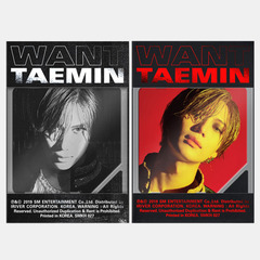 TAEMIN (SHINEE)/2ND MINI ALBUM : WANT(輸入盤)